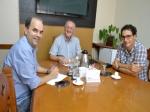 Emílio Parolini se reúne com presidente da Acia