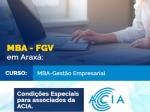 MBA da FGV em Gestão Empresarial