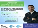 Workshop Liderança e Resultados - Dale Carnegie
