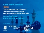 Café empresarial e palestra - FGV