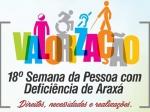 18° Semana da Pessoa com Deficiência de Araxá