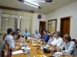 Engenheiros da Codemig visitam Distrito Industrial de Araxá
