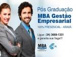 MBA - Gestão Empresarial e Gestão Estratégica do Agronegócio