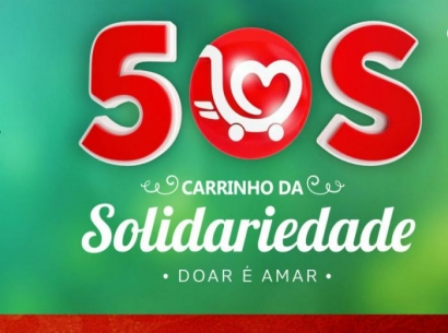 Carrinho da Solidariedade arrecada mais de cinco toneladas de alimentos