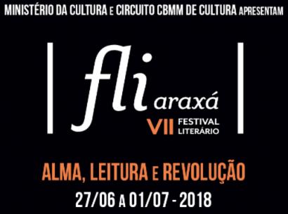 Fliaraxá 2018 traz como tema: Alma, Leitura e Revolução