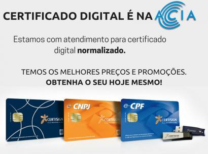 Melhores preços na Certificação Digital