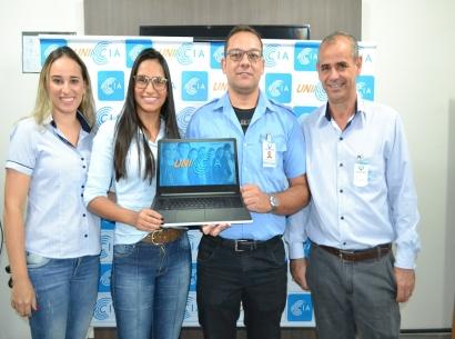 Colaborador da Viação Andrade ganha prêmio Uniacia