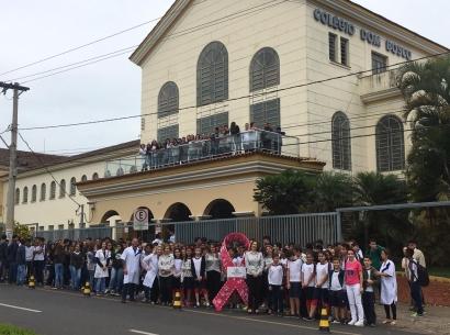 CME promove ação com alunos do Colégio Dom Bosco