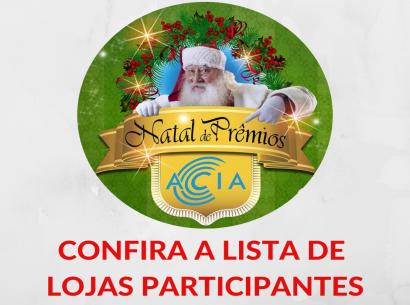 Campanha Natal Acia de Prêmios - 2018