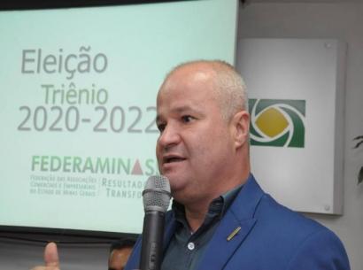 Valmir Rodrigues da Silva é eleito presidente da Federaminas