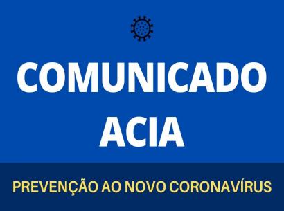Comunicado Acia - COVID 19