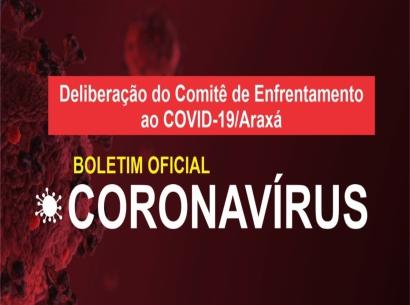 Confira aqui o boletim epidemiológico do Comitê de Enfrentamento ao Covid19 - Atualização diária