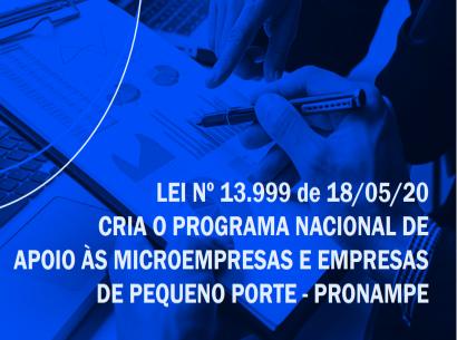 Conheça o Programa Nacional de Apoio às Microempresas e Empresas de Pequeno Porte - Pronampe