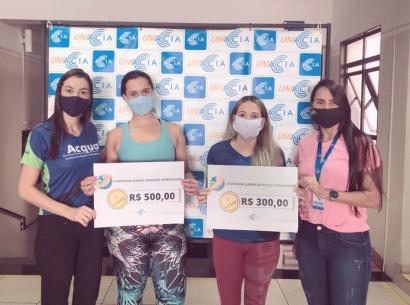 Uniacia entrega premiação da campanha Ganhe Dinheiro Aprendendo
