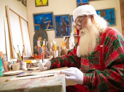 Antenado, Papai Noel participará das lives do FestNatal Araxá