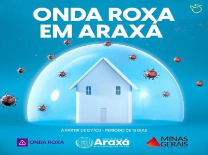 Araxá entra na onda Roxa do Minas Consciente