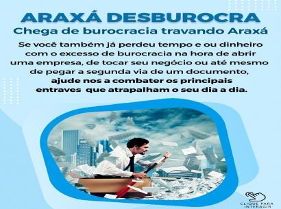 Ajude a desburocratizar Araxá