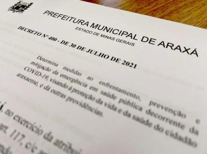 Novas flexibilizações do Comitê de Enfrentamento a Covid19 em Araxá